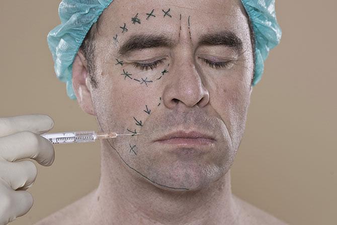 Процедура омоложения лица ботоксом для мужчин