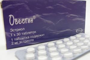 Таблетки Овестин