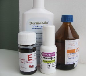 Препараты для лечения отрубевидного лишая