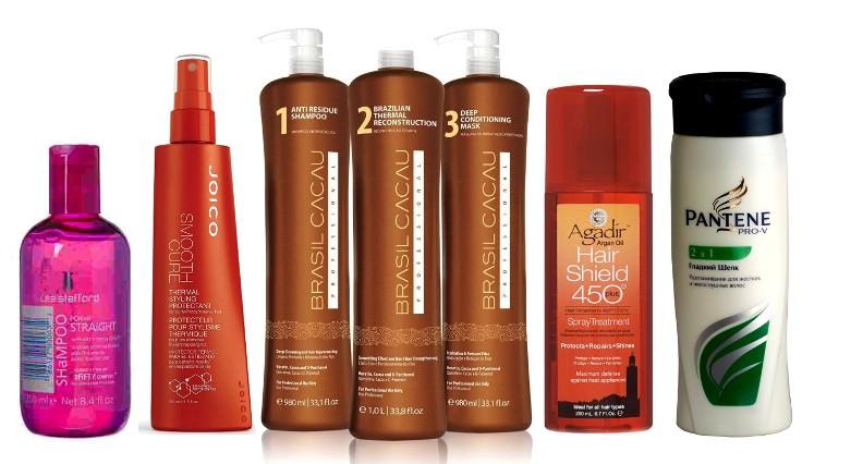 Средства для разглаживания волос