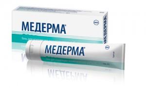 Препарат «Медерма» для борьбы с рубцами и растяжками кожи