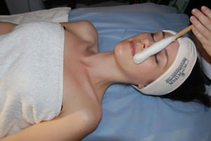 Криомассаж лица - физиотерапия