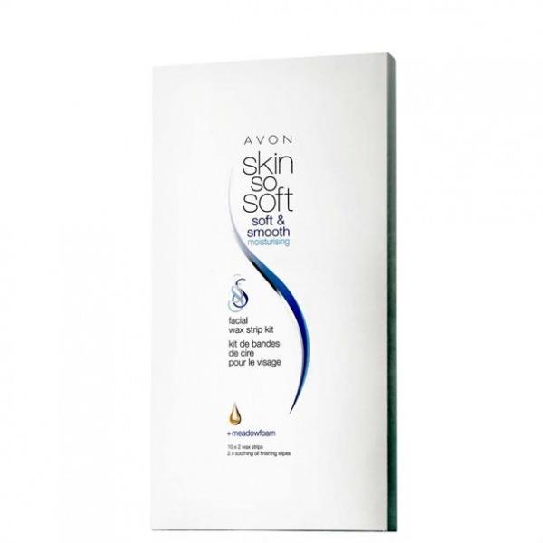 Восковые полоски Avon Skin so soft