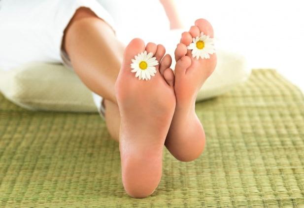 Чистые ноги без бородавок