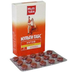 """Витамины """"Мультитабс"""""""