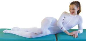 Белый костюм для lpg-массажа